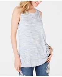 69f6cffb43b21 Style   Co. - Spacedyed Tank-tank Top. Created For Macy s - Lyst