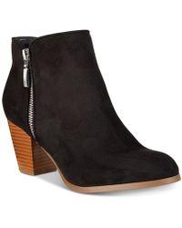 Style & Co. - Jamila Zip Booties - Lyst