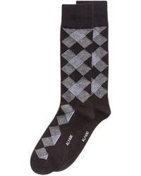 Alfani - Diamond Dress Socks, Created For Macy's - Lyst