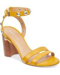 Marc Fisher - Lantern Studded City Sandals - Lyst