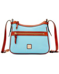 Dooney & Bourke - Pebble Leather Piper Small Crossbody - Lyst