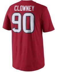 3c1a7fcb5 Nike - Men s Short-sleeve Jadeveon Clowney Houston Texans T-shirt - Lyst