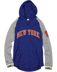 62f3944c0 Mitchell   Ness Mlb New York Mets Head Coach Hoodie in Blue for Men ...