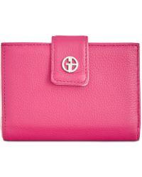 Giani Bernini - Softy Framed Wallet, Created For Macy's - Lyst