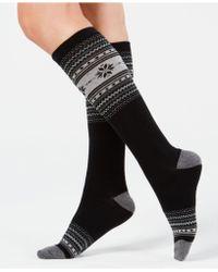 Charter Club - Fair Isle Knee-high Socks, Created For Macy's - Lyst