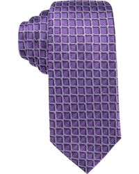 Alfani - Men's Bennington Stripe Slim Tie - Lyst