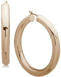 Anne Klein - Hoop Earrings - Lyst
