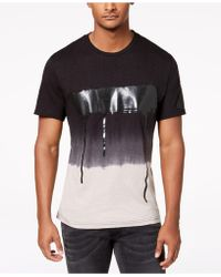 INC International Concepts - Ombré Graphic T-shirt, Created For Macy's - Lyst
