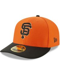 low priced 8c416 3a170 KTZ San Francisco Giants Ultimate Patch All Star Collection 59fifty Fitted Cap  in Black for Men - Lyst