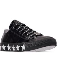 Converse - Chuck Taylor All Star X Miley Cyrus Ox Casual Sneakers From  Finish Line - f902f820ffa8