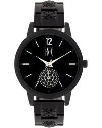 INC International Concepts | Women's Boyfriend Pave Pyramid Glitz Bracelet Watch 40mm | Lyst