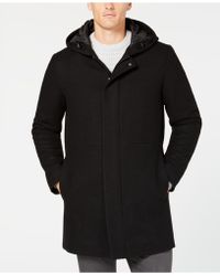 Alfani - Classic-fit Hooded Topcoat, Created For Macy's - Lyst