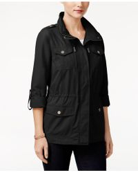 Style & Co.   Petite Utility Jacket, Created For Macy's   Lyst