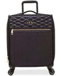 "DKNY - Allure 21"" Quilted Softside Carry-on Spinner Suitcase - Lyst"