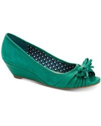 Charter Club - Canikka Bow Wedge Pumps, Created For Macy's - Lyst
