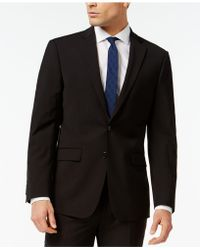 Calvin Klein - Slim Fit Navy Jacket - Lyst
