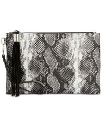 INC International Concepts - I.n.c. Molyy Snake Party Wristlet Clutch, Created For Macy's - Lyst