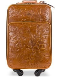 Patricia Nash - Deep Embossed Tooled Suitcase - Lyst