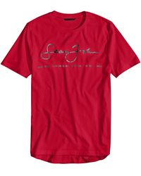 Sean John - Signature Script T-shirt, Created For Macy's - Lyst