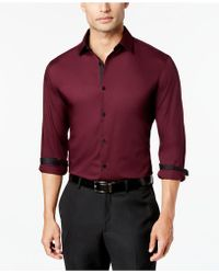 Alfani - Holden Solid Shirt - Lyst