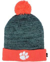 Nike - Clemson Tigers Heather Pom Knit Hat - Lyst