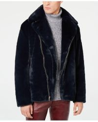 INC International Concepts - Syd Faux Fur Coat, Created For Macy's - Lyst