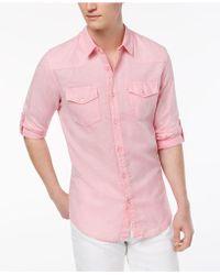 Guess - Walker Western Shirt - Lyst