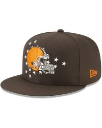 low priced 27a8d 008b1 KTZ - Cleveland Browns 2019 Draft 59fifty Fitted Cap - Lyst