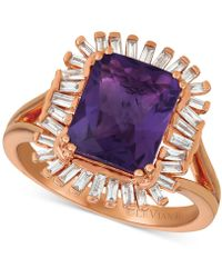 Le Vian - ® Deep Sea Blue Topaztm (3-1/3 Ct. T.w.) & Diamond (1/3 C.t. T.w.) Ring In 14k Rose Gold (also Available In Amethyst) - Lyst