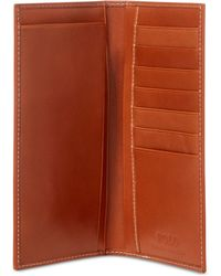 Polo Ralph Lauren - Accessories, Burnished Leather Narrow Wallet - Lyst