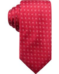 Alfani | Men's Neat Silk Slim Tie, Created For Macy's | Lyst