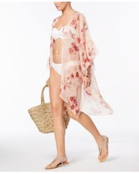 INC International Concepts - I.n.c. Ruffled Floral Kimono & Cover-up , Created For Macy's - Lyst