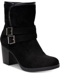 Style & Co. - Gigii Foldover Ankle Booties, Created For Macy's - Lyst