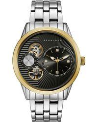 Sean John - Men's Worth Silver-tone Bracelet Watch 45mm - Lyst