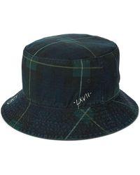 18a5d9cc84cbe Polo Ralph Lauren Reversible Twill Bucket Hat in Black for Men - Lyst