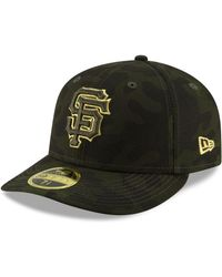 hot sale online d5c40 d91cd KTZ - San Francisco Giants Armed Forces Day Low Profile 59fifty Fitted Cap  - Lyst