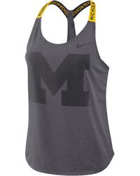 Nike - Michigan Wolverines Elastika Tank - Lyst