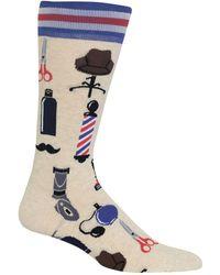 Hot Sox | Barbershop Crew Socks | Lyst