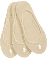 Polo Ralph Lauren - 3-pk. Ultra-low No- Show Liners - Lyst