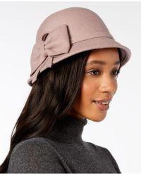 INC International Concepts - I.n.c. Bow Wool-felt Cloche, Created For Macy's - Lyst