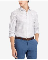 Polo Ralph Lauren - Classic-fit Tattersall Shirt - Lyst