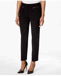 Nine West - Zip-pocket Pants - Lyst