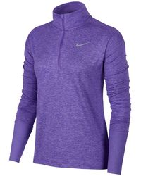 Nike - Element Dry Half-zip Running Top - Lyst