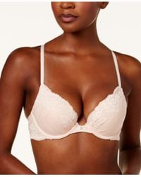 Maidenform - Comfort Devotion Embellished Plunge Push-up Bra 9443 - Lyst