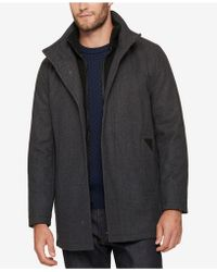 Marc New York - Men's Layered Car Coat - Lyst