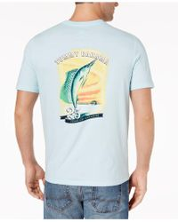 Tommy Bahama - Marlin Paradise Graphic-print T-shirt - Lyst