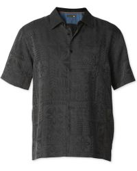 Quiksilver - Waterman Collection Aganoa Bay 3 Jacquard Shirt - Lyst