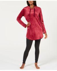 Alfani - Velvet Tunic Pyjama Top, Created For Macy's - Lyst