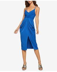 BCBGeneration - Draped Pocket Dress - Lyst