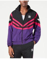 8d3d2f03a Lyst - adidas Men's Orlando City Sc Originals Track Jacket in Purple ...